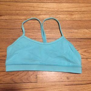 Lululemon teal blue sports bra - sz 8